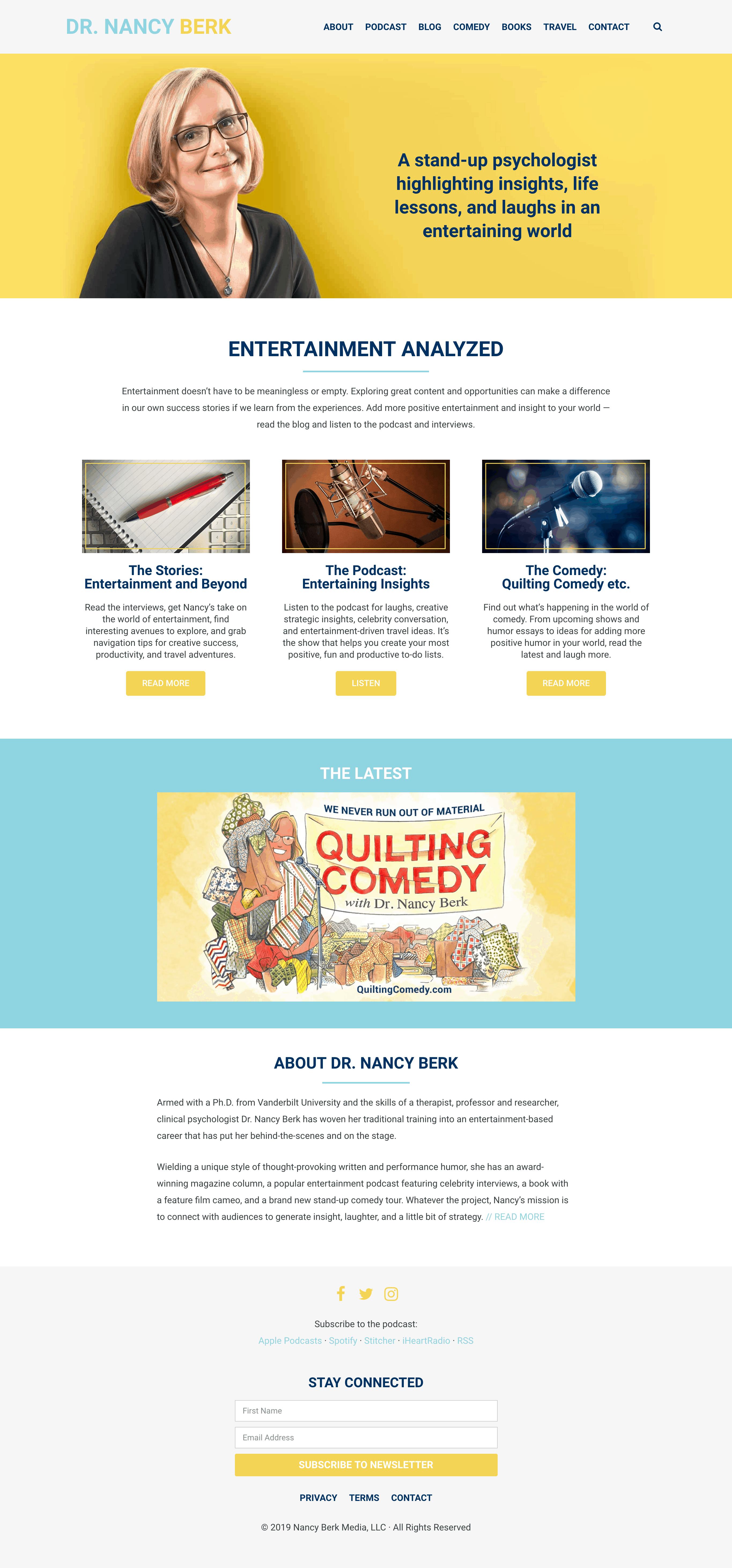 Dr. Nancy Berk home page