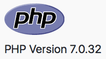 Old version of PHP