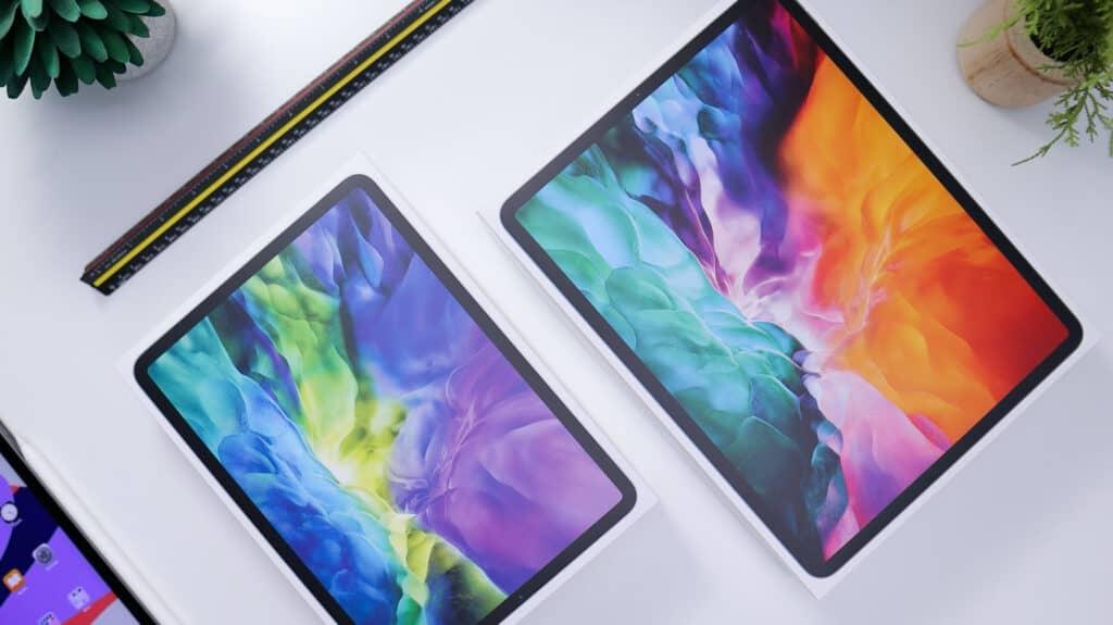 Two iPads