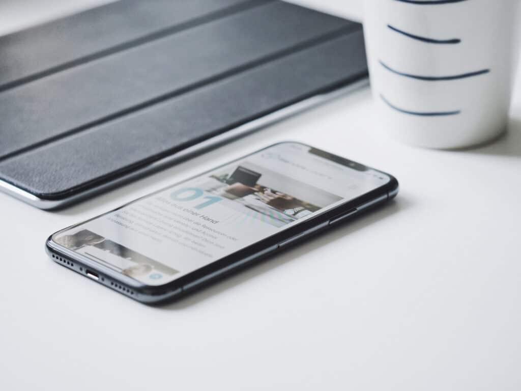 iPhone, iPad and coffee